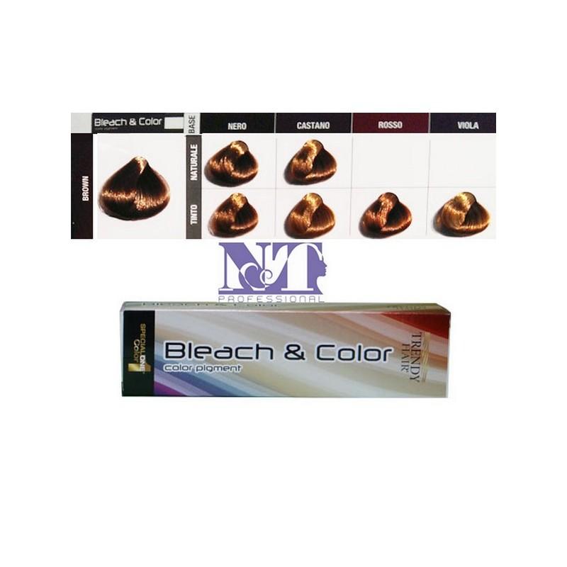 BLEACH & COLOR 80 GR. BROWN