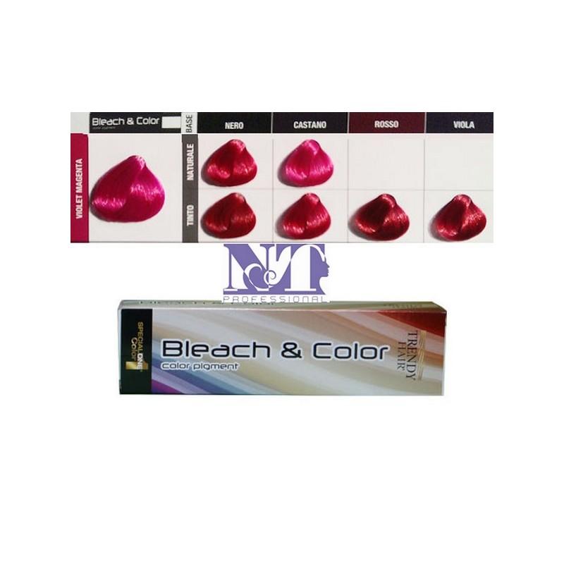 BLEACH & COLOR 80 GR. VIOLET MAGENTA
