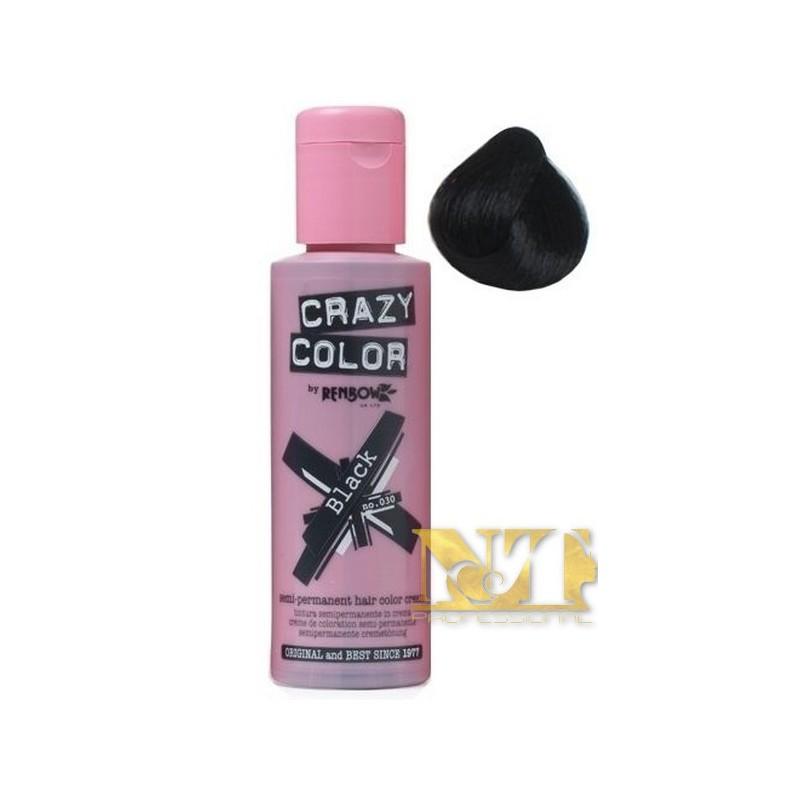 CRAZY COLOR BLACK  N° 30 100 ML