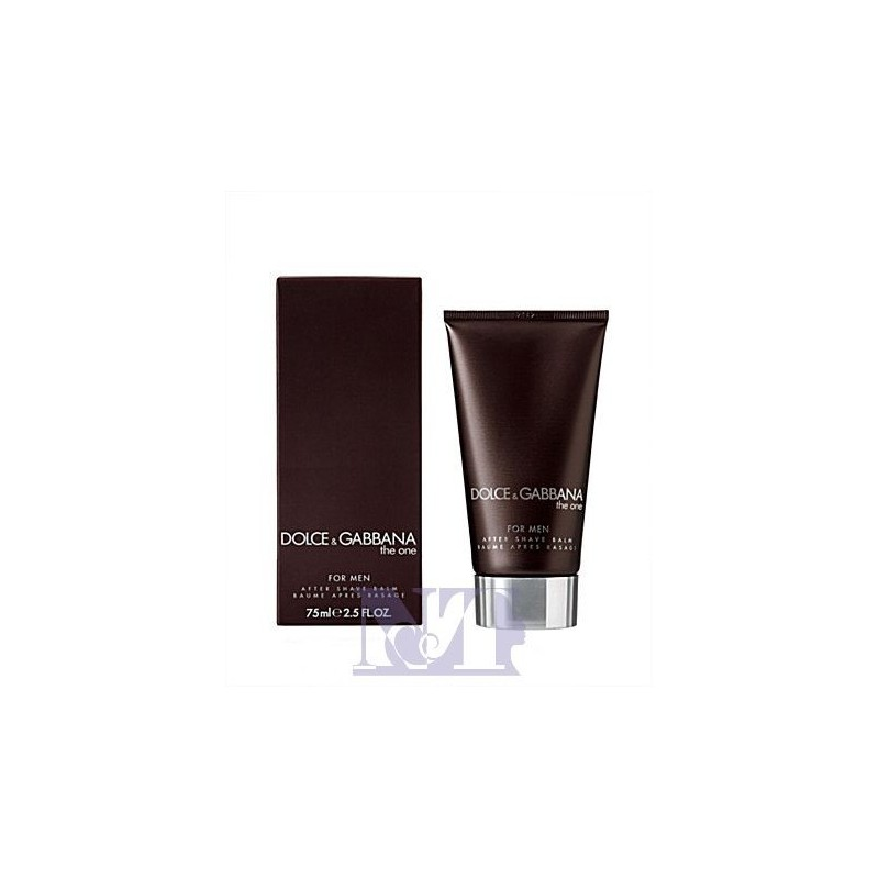 D&G THE ONE FOR MEN AFTER SHAVE 50 ML