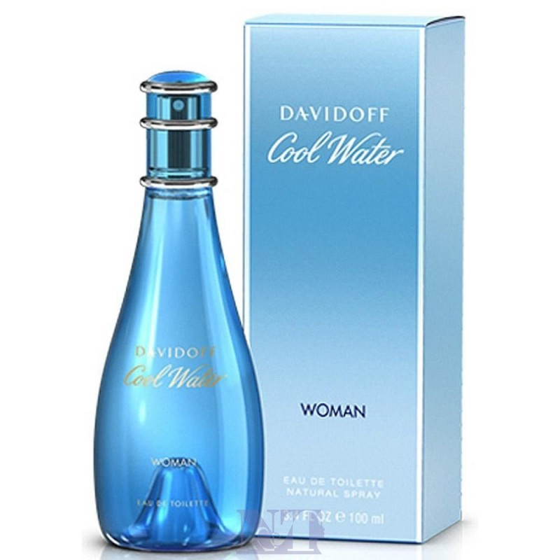 DAVIDOFF COOL WATER WOMEN 50 ML