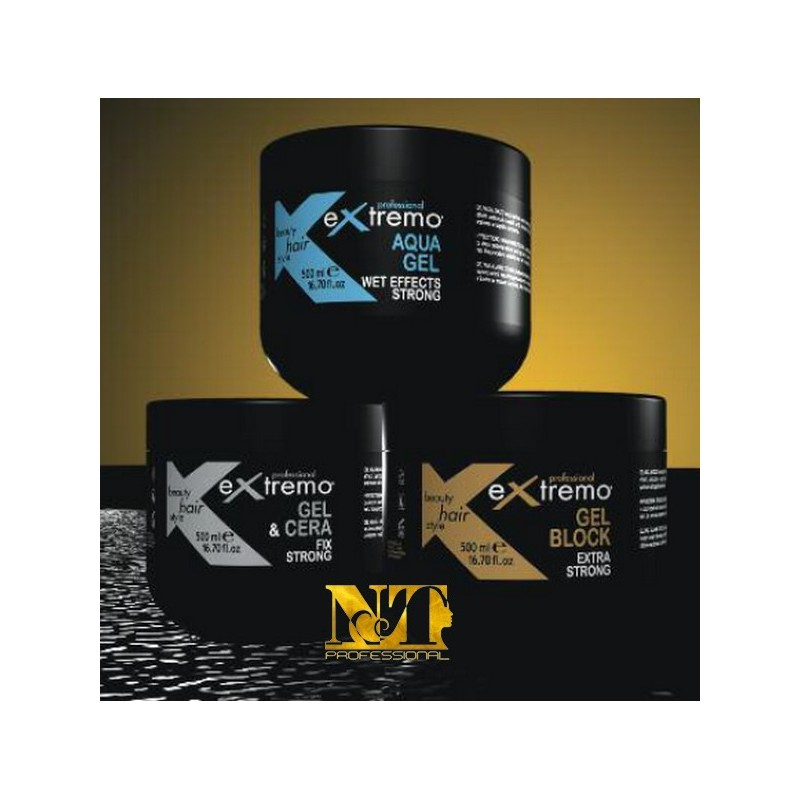 EXTREMO GEL BLOCK EXTRA STRONG 500 ML