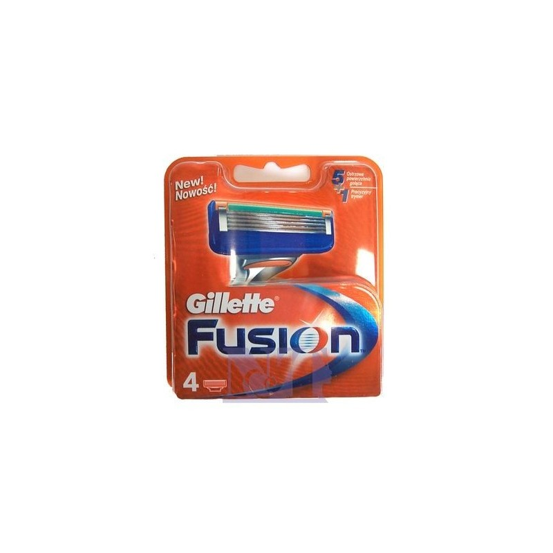 GILLETTE FUSION RICARICA 4 PZ