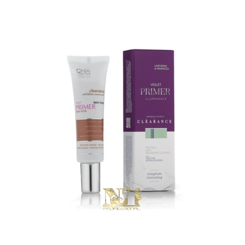 ISCHIA EAU THERMALE PRIMER CLEARANCE VIOLET 30 ML