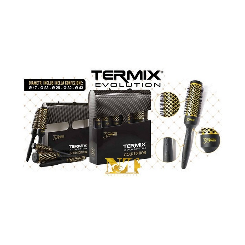 KEPRO KIT SPAZZOLE TERMIX GOLD EDITION