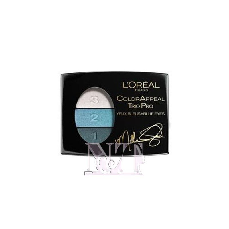 L'OREAL COLOR APPEAL TRIO PRO N 318 BLEU TURQUOISE