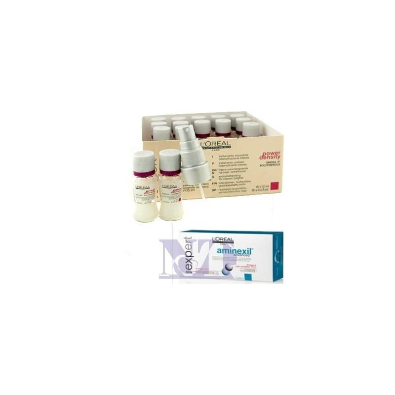 L'OREAL FIALE ANTICADUTA DOPPIA AZIONE AMINEXIL+ OMEGA6 CF 10 FIALE