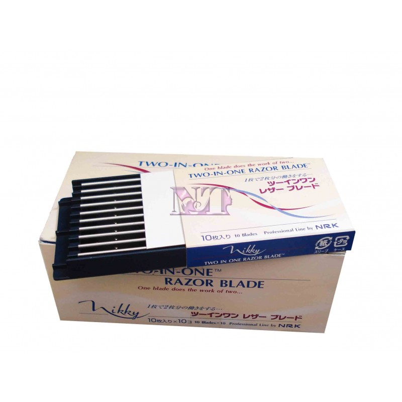 LAME TWO-IN-ONE RAZOR BLADE CONF. 10 PZ