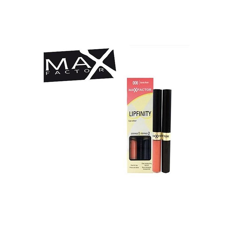 MAX FACTOR LIPFINITY ROSSETTO N 006